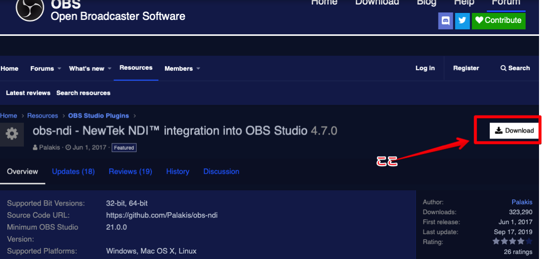 Obs ndi  NewTek NDI™ integration into OBS Studio   OBS Forums 2019 10 28 00 13 16